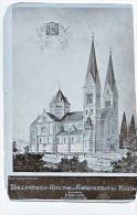 KOLLEKTION HANS PASCHER  ARCHITEKT WALLFAHRTS KIRCHE TRSAT FIUME  1905 FOTO - Kirchen U. Kathedralen