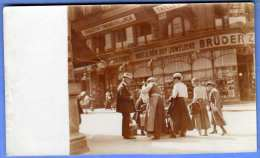 WIEN 1900, BRÜDER ZIRNER, KAIS.U.KÖN. HOF JUBELIERE, Original Fotokarte - Vienna