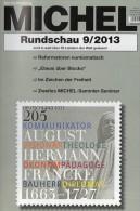 Briefmarken Rundschau MICHEL 9/2013 Neu 5€ New Stamps Of The World Catalogue And Magacine Of Germany ISBN4 194371 105009 - Italie