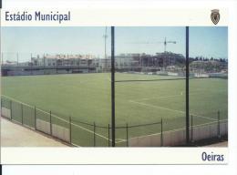 "ESTADIO - STADIUM - STADE - STADIO - STADION "" MUNICIPAL "" .- OEIRAS ( PORTUGAL ) - Fútbol"