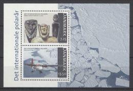 Denmark - 2007 Polar Year Block MNH__(TH-1476) - Blocs-feuillets