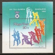 HUNGRÍA 1983 - Yvert #H172 - MNH ** - Hojas Bloque