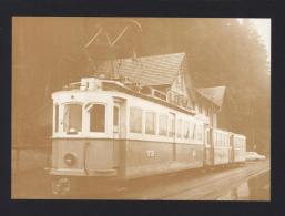 Trogenerbahn (TB) BDe 4/4 2 + 2 B 2 Ex STI - 1972 Rank - Leutwiler - Carte Papier Souple Format CPM- Réf A3130 - Trains