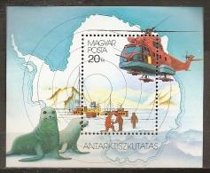 FILATELIA POLAR - HUNGRÍA 1987 - MNH ** - Estaciones Científicas