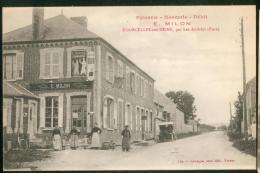 Courcelles -sur-Seine - Epicerie Mercerie, Débit E. Milon - Sonstige Gemeinden