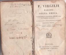 P VIRGILII MARONIS OPERA OMNIA 1824 - Oud