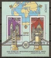 HUNGRÍA 1989 - Yvert #H203 - MNH ** - Hungría