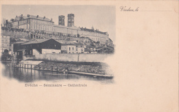 55 - VERDUN - Evêché - Séminaire - Cathédrale - CARTE PRECURSEUR - Verdun