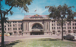 Canadian National Railway Station , WINNIPEG , Manitoba , Canada , 50-60s - Winnipeg