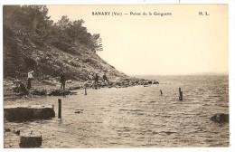CPA 83 SANARY Pointe De La Gorguette - Sanary-sur-Mer