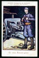 Signée Geoges BRUYER 1916 - POILUS - Guerre 1914 - 1918 - Illustrateurs & Photographes