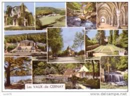 LES VAUX DE CERNAY -  A L´Abbaye Des Vaux, Les Ruines De L´Eglise, Panorama Sur Les Vaux, Le Ru Des Vaux, Chateau De ... - Vaux De Cernay
