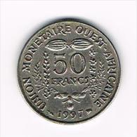 .. WEST AFRICAN STATES  50 FRANCS  1997 - Centrafricaine (République)