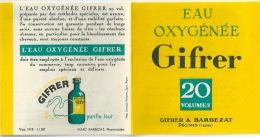 Publicité Dépliant GIFRER Avec Recettes - Publicités