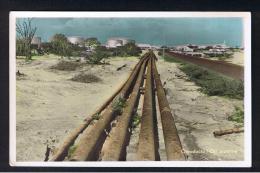 RB 943 - Real Photo Postcard - Oleoducto / Oil Pipeline - Maracaibo Venezuela - Venezuela