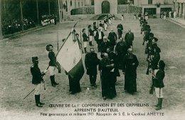 Oeuvre De La 1er Communion Et Des Orphelins Apprentis D'Auteuil-fête Gymnastique 1913 Cardinal Amette - Boulogne Billancourt