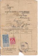 REPUBBLICA POPULARA ROMANA, ROMANIA,BULETIN DE INSCRIERE LA BIUROUI POPULATIEI, 1926, - Historical Documents