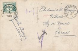 ADINKERKE - 1926 , Nachporto VEURNE-FURMES - Belgien