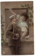 AK AK KÜNSTLERKARTEN PAARE FOTOGRAFIE  Nr. U 1323. OLD POSTCARD 1910 - Couples