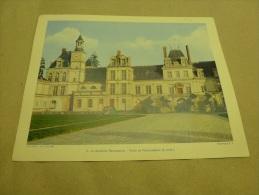 Année 1955  Grande Photographie En Couleurs (27cm X 21cm) Palais De FONTAINEBLEAU. - Lugares