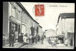 Cpa  Du  55  Dammarie  Grande Rue      6ao20 - Francia