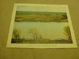 Année 1954  Grande Photographie En Couleurs (27cm X 21cm)  SAINTE-BAZEILLES (près De Marmande) - Lugares