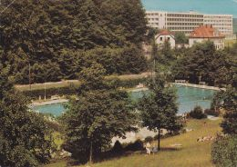 Cp , ALLEMAGNE , BAD DRIBURG , Westf , Schwimmbad Mit BFA-Hrim - Bad Driburg