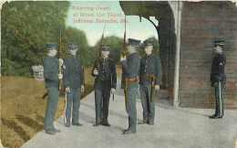 Pays Divers- Etats Unis -usa -ref A244-relieving Guard -at Street Car Depot -jefferson B - Postcard In Good Condition  - - Etats-Unis