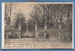 92 - BOURG La REINE -- Allée Et Grille Du Parc..... - Bourg La Reine