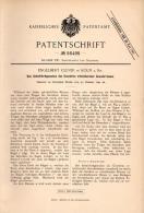 Original Patentschrift - E. Clever In Köln A.Rh., 1890 , Riemen Für Gewehr , Jagd , Jäger , Schießen !!! - Ausrüstung