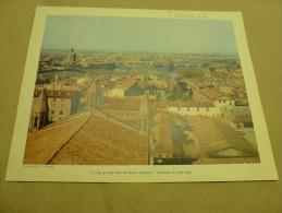 Année  1954  Grande Photographie En Couleurs (27cm X 21cm)  Un Coin De TOULOUSE. - Places