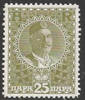 1913 25pa King Nicholas I, Mint Never Hinged - Montenegro
