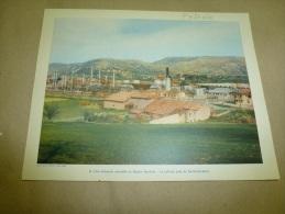 Année  1954  Grande Photographie En Couleurs (27cm X 21cm)  SAINT-GAUDENS Et Le Pétrole. - Lugares