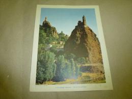Année 1954  Grande Photographie En Couleurs (27cm X 21cm)  LE PUY En VELAY. - Orte