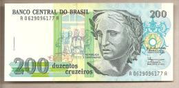 Brasile - Banconota Non Circolata Da 200 Cruzeiro P-229 - 1990 - Brazil