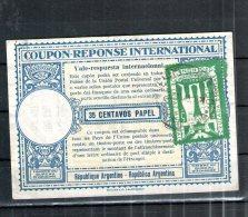 2580 IRC IAS CRI - International Reply Coupon - Antwortschein T19 Argentia Argentinien Siehe Scan - Argentine