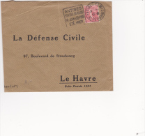 Antibes 1930 - Alpes-Maritimes 06 - Daguin - Plage De Juan-les-Pins - Storia Postale