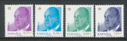Spain 2011 Edifil # 4633-4536. Don Juan Carlos I,  MNH (**) - 1931-Oggi: 2. Rep. - ... Juan Carlos I