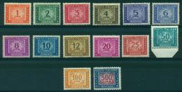 REPUBBLICA 1947-54 SEGNATASSE FIL.RUOTA MNH** EXTRALUSSO - Portomarken