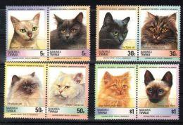 Tuvalu Nanumea - 1985 Cats MNH__(TH-1965) - Tuvalu
