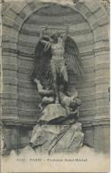 4133 Paris - Fontaine Saint-Michel Imp Ele Leley Paris - Amiens