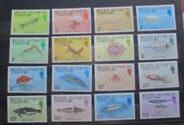 British Antartic Territory 1984 Marine Life MNH - Nuovi