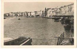 CPA-1930-TUNISIE-BIZERTE-LE VIEUX PORT-LES RAMPARTS DE LA KASBAH--TBE - Tunisie