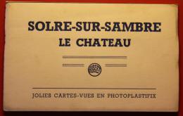 Solre-sur-Sambre - Le Château - Carnet Complet De 8 CPM Glacées - Bélgica