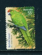 AUSTRALIA - 2009 Species At Risk 55c (Parrot) Self Adhesive Used As Scan - 2000-09 Elizabeth II