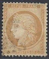 10 C. Siège De Paris Oblitéré - 1870 Siege Of Paris