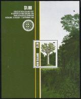 New Zealand,  Scott 2013 # 959a,  Issued 1989,  S/S Of 1,  NH,  Cat $ 4.25,  Bird - Ongebruikt