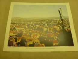 Photo Baranger En 1954  Grande Photographie En Couleurs (27cm X 21cm)  CLERMONT-FERRAND.... - Lieux