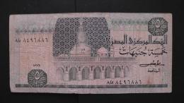 Egypt - 5 Pounds - P 56b - F - As Scan - Aegypten