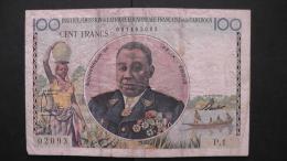 Cameroon - 1957 - 100 Francs - P 32 - VF/F - Look Scans - Kameroen